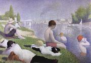 Georges Seurat bathers as asnieres china oil painting reproduction
